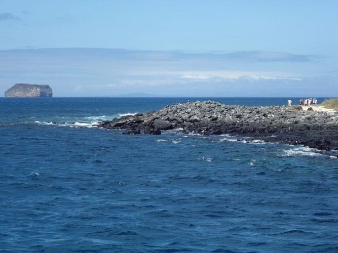 Exploring the different islands in the Galapagos